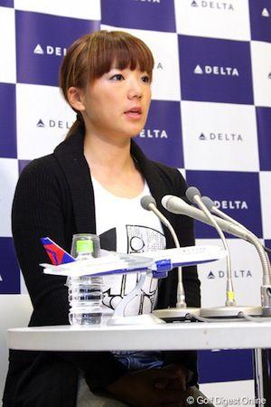 有村智恵2013米ツアー出場決定