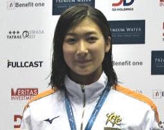 池江璃花子、またまた日本新記録。日本人初の52秒台